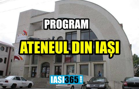 program ateneul iasi 2017