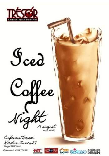 iced coffe night