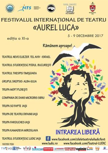 festivalul international de teatru Aurel Luca