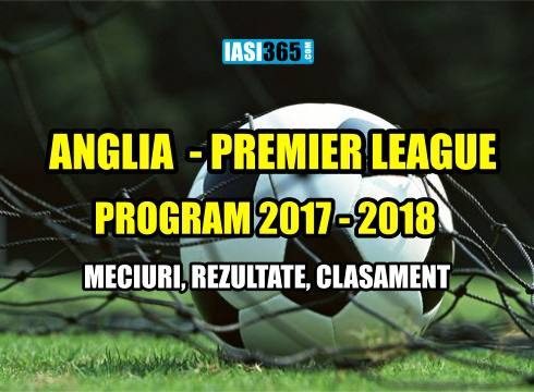 program premier league 2017-2018