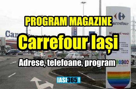 Program Carrefour Iasi Adrese Program Cu Ce Autobuze Ajungem
