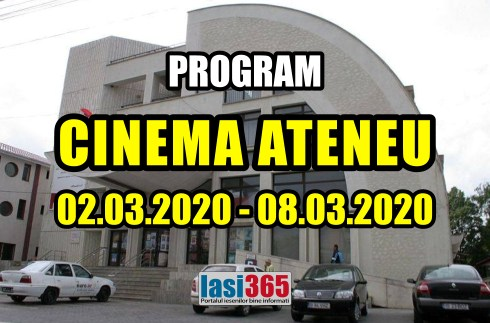 program cinema ateneu 4 8 martie 2020