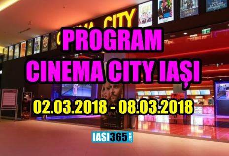 program cinema city iasi 2 8 martie 2018