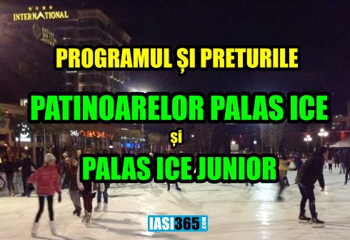 program patinoar palas Ice Iasi 2017