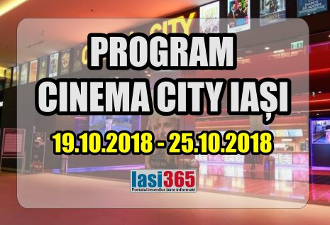 programul cinema city 19 25 octombrie 2018