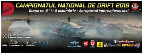 campionatul national drift Iasi 2016