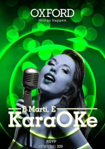 karaoke oxford pub