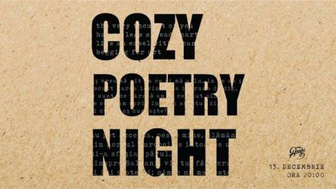 Cozy Poetry Night decembrie 2017