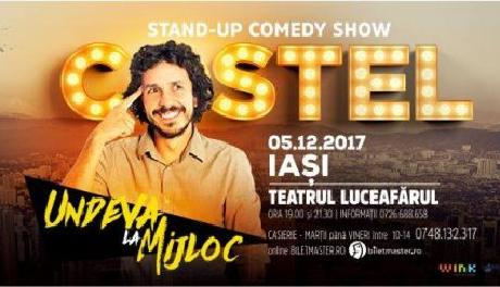 costel-stand-up-decembrie Iasi