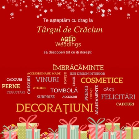 targul de craciun ageo Weddings