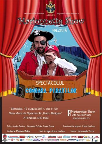 teatru copii comoara piratilor august 2017