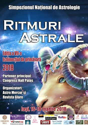 Simpozion national astrologie ritmuri astrale 2018 Iasi