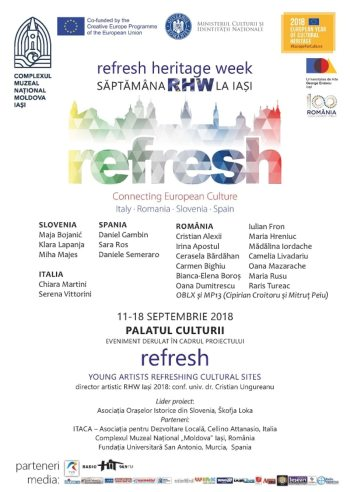 saptamana refresh heritage week septembrie 2018