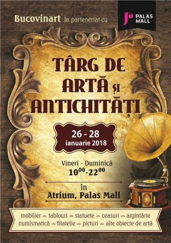Targ-de-Arta-si-Antichitati-Palas-Mall ianuarie 2018