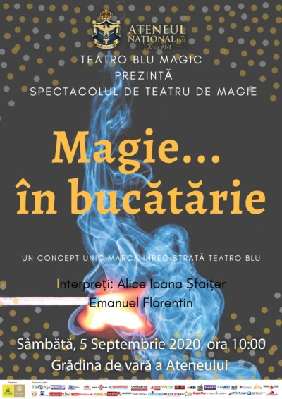 Magie in bucatarie Teatro Blu septembrie 2020