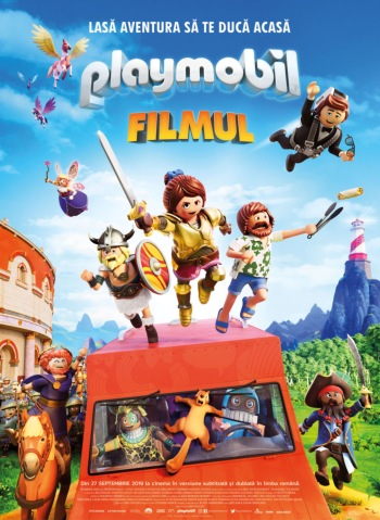 Filmul Playmobil the movie la Cinema City Iasi