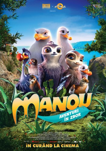 Manou the swift la Cinema City Iasi