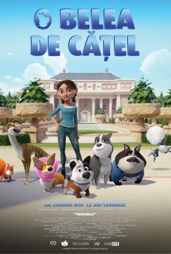 Filmul O belea de catel  la Cinema City Iasi septembrie 2019