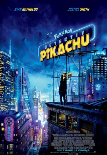 pokemon detective pikachu la Cinema City Iasi