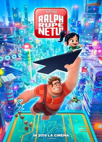 Ralph Breaks the Internet (Ralph rupe netu') la Cinema City Iasi