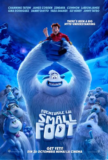 smallfoot la Cinema City Iasi