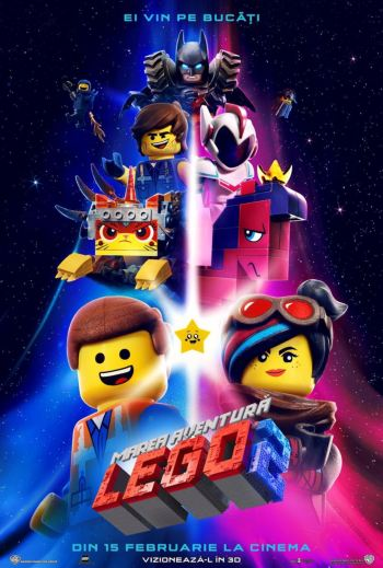 Filmul The Lego Movie 2: The Second Part la Cinema City Iasi