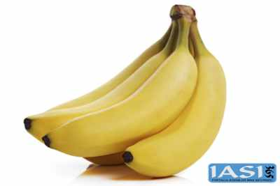 Banana este un fruct ideal in alimentatie cand avem probleme digestive