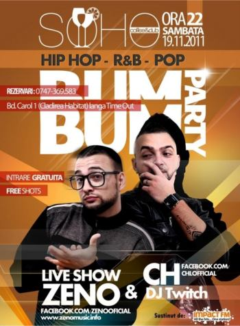 Bum Bum Party in Soho Club Iasi